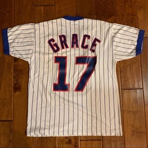 Russell Athletic Shirts - Chicago Cubs Mark Grace T-shirt